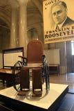 Wózek inwalidzki używać Franklin d Roosevelt na pokazie, w Albany Capitol budynku, Nowy Jork, 2016 Fotografia Stock