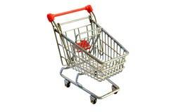 wózek na zakupy Obraz Royalty Free