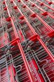 Wózek na zakupy w linii Obraz Stock