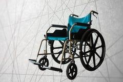Wózka inwalidzkiego abstrakta linii usługowy tło Obrazy Stock