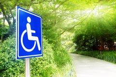 Wózka inwalidzkiego dostęp obrazy stock