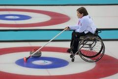 Wózka inwalidzkiego fryzowanie obraz stock