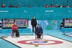 Wózka inwalidzkiego fryzowanie Zdjęcia Stock
