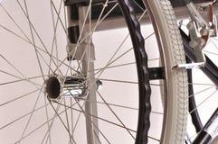Wózka inwalidzkiego szczegół Obraz Stock
