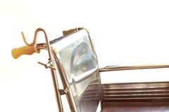 Wózki inwalidzcy czeka usługa z światło słoneczne kopii przestrzenią obraz royalty free