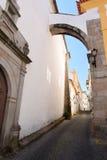 Wölben Sie sich im alten Bezirk von Portalegre, Alentejo Lizenzfreie Stockfotos