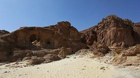 Wölbt Felsformation an Timna-Park, Israel Lizenzfreie Stockbilder