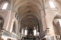 Wölbung der Trier-Kathedrale Lizenzfreies Stockfoto