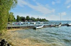 Wörth lake Stock Images