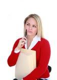 Wünschenswerter Büroangestellter Lizenzfreie Stockfotografie