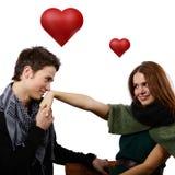 Würden Sie mich heiraten? Lizenzfreies Stockfoto