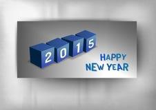 2015 Würfel Lizenzfreies Stockfoto