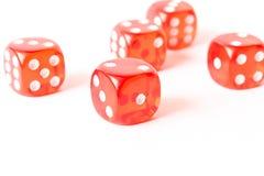 Würfel auf einem weißen Hintergrund Abstrakte Abbildung 3d abstrakter Hintergrund in 10 ENV Stockfoto