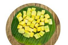 Würfel der Mango lizenzfreie stockfotos