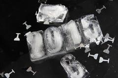 Würfel des Eises 2015 Stockfotos