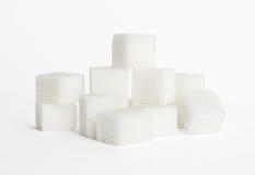 Würfel des Zuckers Stockfoto