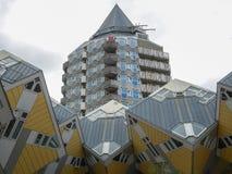 Würfel-Haus in Rotterdam Lizenzfreies Stockbild