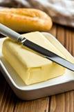 Würfel von Butter Lizenzfreies Stockbild