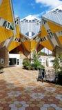 Würfelhäuser in Rotterdam lizenzfreies stockbild