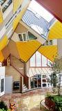 Würfelhäuser in Rotterdam stockfotografie