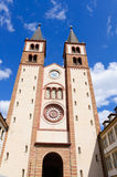Würzburg Cathedral in Germany Royalty Free Stock Photos