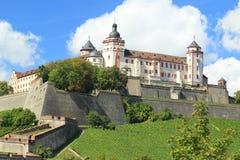 Würzburg-Festung lizenzfreie stockfotografie