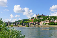 Würzburg, Germany. Royalty Free Stock Photography