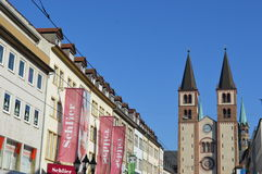 Würzburg in Germany Stock Photography