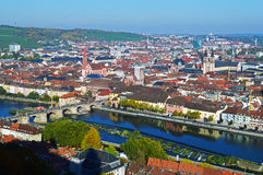Würzburg in Germany Royalty Free Stock Photography