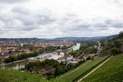 WÜRZBURG, GERMANY - September 18, 2017: Würzburg is a city in royalty free stock images