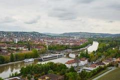 Würzburg on the Main Royalty Free Stock Photo