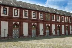 Würzburg Tyskland - inre borggård för Marienberg fästning Royaltyfria Bilder