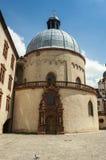 Würzburg Tyskland - inre borggård för Marienberg fästning Arkivbilder
