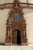 Würzburg Tyskland - Marienberg fästningkapell Royaltyfri Bild