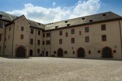 Würzburg Tyskland - Marienberg fästningslott Royaltyfri Fotografi