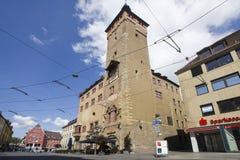 WürzburgRathaus, Deutschland Stockfotografie