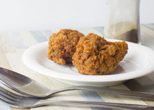 Würzige Beine Fried Chicken Lizenzfreies Stockbild