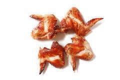 Würzige Hühnerflügel Lizenzfreie Stockbilder