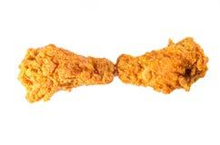 Würzige Hühnerflügel Stockfoto