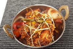 Würzige Hühnerflügel mit teriyaki Soße Stockbild