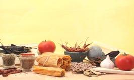 Würzige Nahrungsmittelnoch Lebensdauer Lizenzfreie Stockfotografie