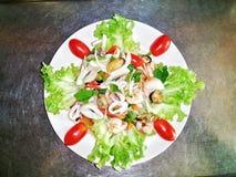 Würzige Salatmischung Stockbild