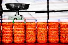 Würziger in Essig eingelegter Kohl Lizenzfreies Stockfoto