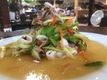 Würziger Salat Stockfoto