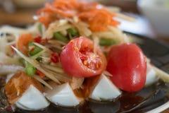 Würziger Salat Lizenzfreies Stockfoto