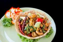 Würziger Salat des Acajoubaums Lizenzfreie Stockfotografie
