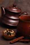 Würziger Tee lizenzfreies stockfoto