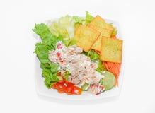 Würziger Thunfischsalat Lizenzfreie Stockbilder
