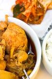 Würziges koreanisches Huhn Lizenzfreies Stockbild