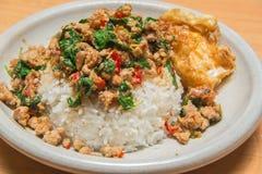 Würziges und köstliches thailändisches Lebensmittel Stockbilder
